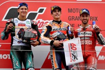 Hasil GP Jepang, Marquez raih Juara