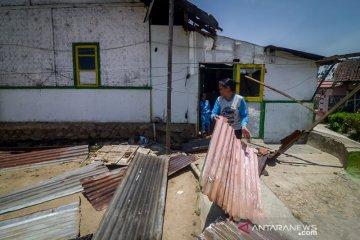 Bencana Angin Ribut di Pangalengan
