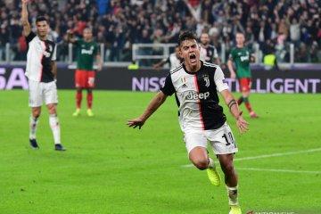 Juventus menang 2-1 atas Lokomotiv berkat dua gol Dybala