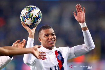 Mbappe sumbang tiga gol, PSG cukur tuan rumah Brugge 5-0