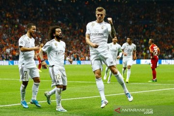 Real Madrid menang tipis di markas Galatasaray