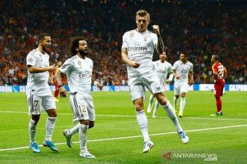 Real Madrid menang tipis di markas Galatasaray