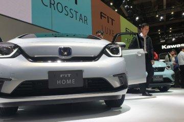 """Lima mobil """"All New Fit"""" andalan Honda di Tokyo Motor Show"""
