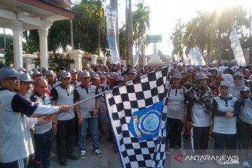 Ribuan warga Kota Pangkalpinang ikuti Jalan Sehat SAIK 2019
