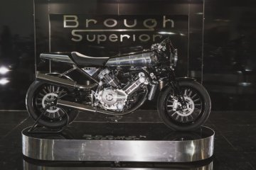 Aston Martin jajal pasar sepeda motor