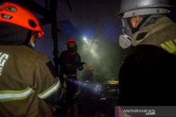 Kebakaran Permukiman Padat di Bandung