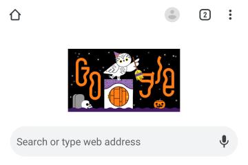Google buat Doodle interaktif untuk Halloween