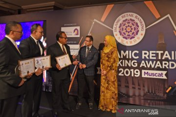 Bank Syariah Mandiri Sabet Tiga Penghargaan di Ajang IRBA 2019 di Oman