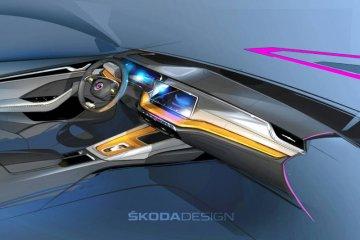 Desain Skoda all new Octavia 2020 tampak lebih modern