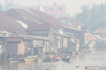 Kota Banjarmasin kembali terpapar kabut asap