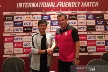 Timnas U-22 Indonesia lawan Iran berakhir imbang 1-1
