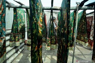 Produksi batik meningkat saat musim kemarau