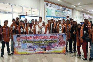 Fornas V Samarinda, Momentum Lampung Adopsi Tuan Rumah