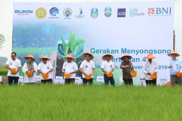 "BNI terapkan ""Smartfarming"" untuk sejahterakan petani"