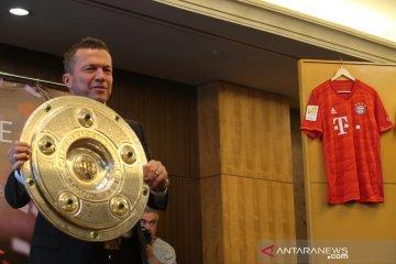 Lothar Matthaus hadir di Indonesia, ini komentarnya untuk tuan rumah Piala Dunia U-20