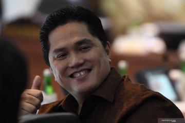 Erick Thohir tegaskan pimpinan BUMN tidak melobi pertahankan jabatan