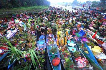Festival Pesona Pasar Terapung Lok Baintan 2019