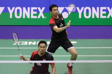 Dua wakil Indonesia siap bertarung di final Hong Kong Open