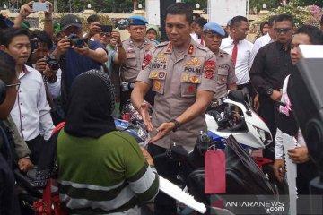 Polisi Indramayu bekuk 24 pencuri kendaraan bermotor antarprovinsi