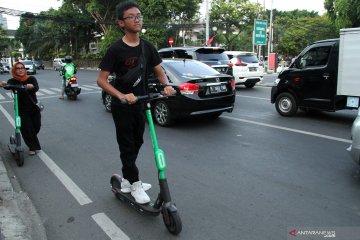 Aturan operasional skuter listrik di Jakarta