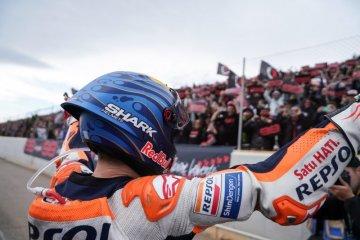 Perasaan lega Lorenzo setelah balapan terakhir di motoGP Valencia