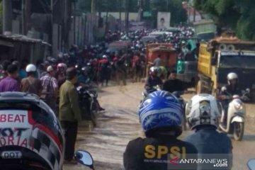 Pembebasan lahan Jalan Cikarang-Cibarusah dianggarkan Rp24 miliar