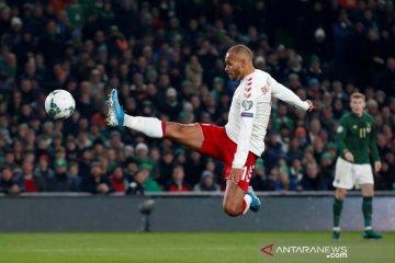 Denmark lolos ke Piala Eropa walau main imbang dengan Irlandia