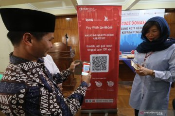 Elektronifikasi kotak amal Bank Indonesia
