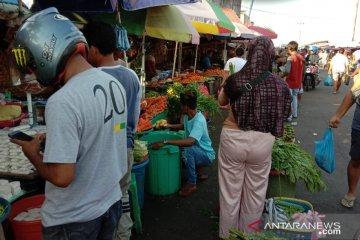 Harga berbagai jenis sayuran lokal di Ambon mulai naik