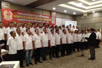 Porkab Bekasi 2020 ajang menjaring atlet potensial