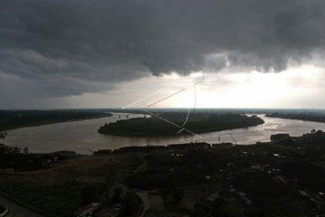 Siaga banjir di bantaran Sungai Batanghari