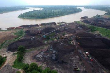 Tempat penumpukan batu bara