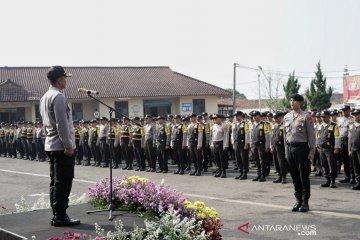 786 polisi siap kawal Pilkades di Bandung Barat