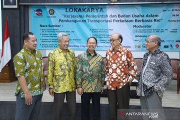 Universitas Pancasila gelar lokakarya transportasi berbasis rel