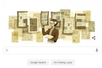 Google Doodle rayakan HUT 101 Ani Idrus, siapakah dia?