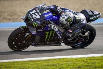 Vinales bawa Yamaha puncaki hari pertama tes pramusim di Jerez