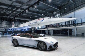 Cuma 10 unit, Aston Martin rilis Superleggera Concorde edisi khusus