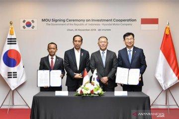Bahlil sebut tiga negara minati investasi baterai litium di Indonesia