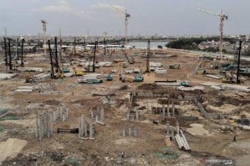 Pembangunan Jakarta International Stadium terus berlanjut