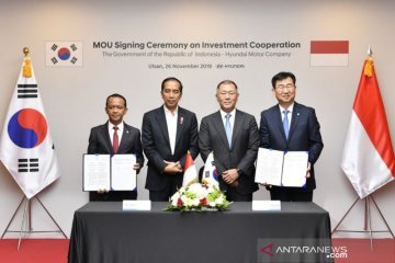 BKPM: komitmen Hyundai pemantik iklim investasi Indonesia di dunia