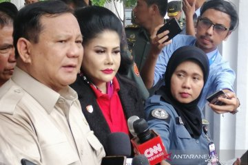 Prabowo akan perjuangkan peningkatan anggaran pertahanan