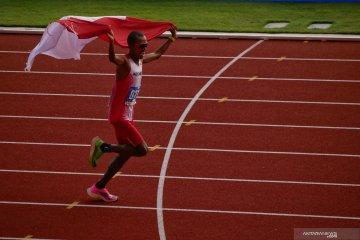 SEA Games 2019, Agus Prayogo persembahkan emas pertama atletik untuk Indonesia