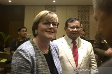 Menhan, Menlu RI sambut Menhan, Menlu Australia di Bali
