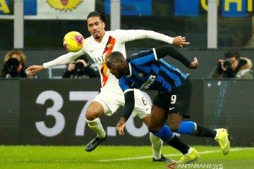 Inter Milan ditahan imbang tamunya AS Roma