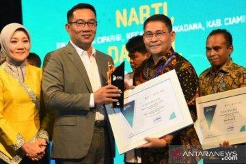 """Diskominfo Kabupaten Bogor terima penghargaan """"Best Sapawarga Administor"""""""