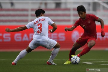 Taklukkan Myanmar 4-2, Timnas Indonesia ke final SEA Games 2019