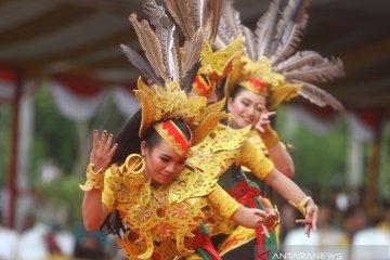 Gelar Bersama Seni Budaya Harjad Ke-54 Kabupaten Tabalong