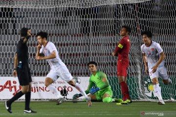 Timnas U-22 Indonesia gagal raih medali emas sepak bola, takluk 0-3 dari Vietnam