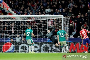 Atletico Madrid kalahkan Lokomotiv, dampingi Juventus masuk 16 besar
