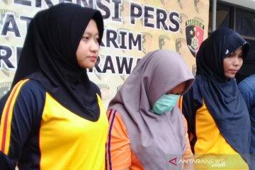 Janda pembunuh bayi kandungnya ditangkap polisi Karawang